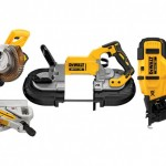DeWalt Launches New Saws and Cordless Nailer