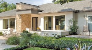 A Fashionable Facade for this Florida Ranch